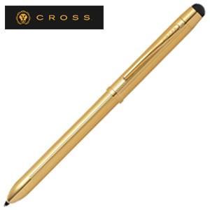 高級 ボールペン クロス テックスリー プラス ハイエンドフィニッシュ 複合ペン 23金ゴールドプレート AT0090-12|nomado1230