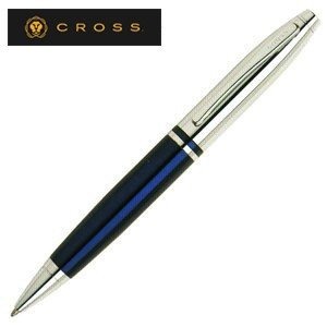 高級 ボールペン 名入れ クロス カレイ ボールペン ブルー AT01123|nomado1230