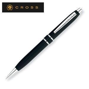 高級 ボールペン 名入れ クロス STRATFORD ストラトフォード ボールペン サテンブラック AT0172-3|nomado1230