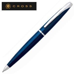高級 ボールペン 名入れ クロス エイティエックス ボールペン トランスルーセントブルーラッカー 882-37|nomado1230