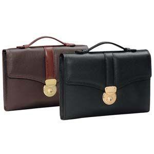 セカンドバッグ 革 國鞄(コクホー) ソフト牛革シリーズ ソフト牛革タイプ B5サイズ かぶせ式 チョコ 2109CK|nomado1230