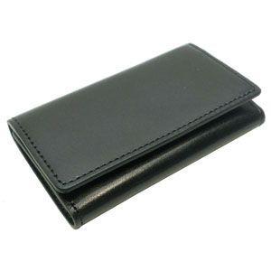 キーホルダー 革 名入れ 國鞄(コクホー) 國鞄シリーズ キーケース 5連 ブラック 2294BK|nomado1230