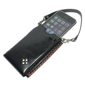ギフトセット 國鞄(コクホー) 國鞄シリーズ i-Phone アイフォンケース 黒 2303BK|nomado1230