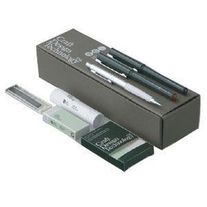 文具セット クラフトデザインテクノロジー (CDT) GIFT Set ギフトセットS S 5個セット 灰色 940SETS-GR|nomado1230