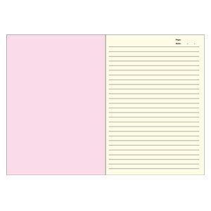 ノート A5 キョクトウ・アソシエイツ F.O.B COOP A5判 7ミリ罫 綴じノート 黒×白タテ縞 5セット X257|nomado1230|02