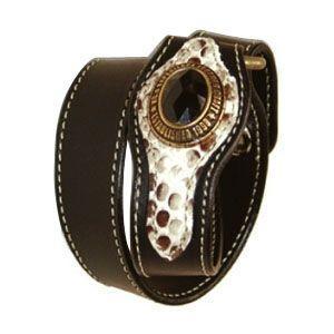 ブレスレット 革 ケイシーズ(KCs) ブレスレットコブラ ブラック KIA505C|nomado1230