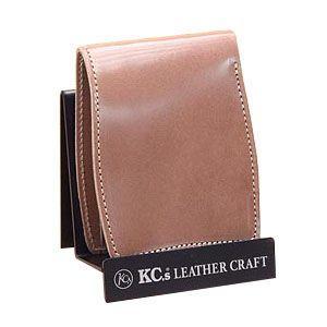 メンズ財布 革 名入れ ケイシーズ(KCs) プレーン ベーシック グレー ビルフォード KIB509C|nomado1230