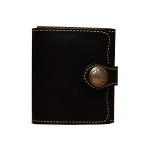 メンズ財布 革 名入れ ケイシーズ(KCs) ビルフォード デスペラード カウハイド ブラック KIB500C|nomado1230