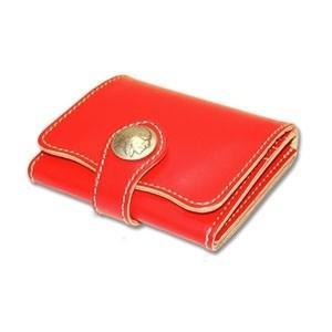 メンズ財布 革 名入れ ケイシーズ(KCs) ビルフォード デスペラード カウハイド レッド KIB500D|nomado1230