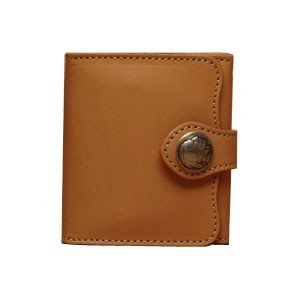 メンズ財布 革 名入れ ケイシーズ(KCs) ビルフォード デスペラード カウハイド タン KIB500A|nomado1230
