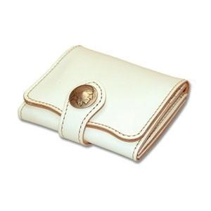 メンズ財布 革 名入れ ケイシーズ(KCs) ビルフォード デスペラード カウハイド ホワイト KIB500E|nomado1230