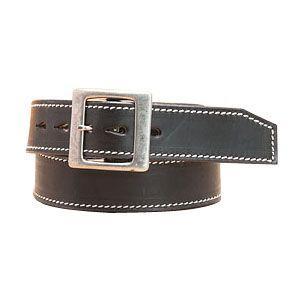 ベルト 革 名入れ ケイシーズ(KCs) 45ミリ巾 ブラック ハーフムーン ベルト 1 3/4インチ KID512C|nomado1230