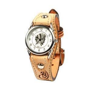 腕時計 革 ケイシーズ(KCs) ウォッチブレス カクタス フリーカット サドル KIR501A|nomado1230