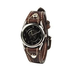 腕時計 革 ケイシーズ(KCs) ウォッチブレス カクタス フリーカット モカ KIR501C|nomado1230