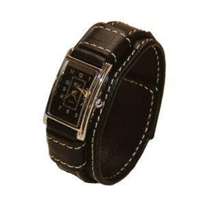 腕時計 革 ケイシーズ(KCs) ウォッチブレス レディース バージニア ブラック KIR516C|nomado1230