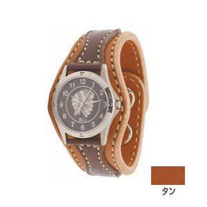 腕時計 革 ケイシーズ(KCs) アローヘッド タン ウォッチブレス KIR521A|nomado1230