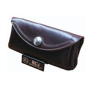 メンズ 長財布 革 ケイシーズ(KCs) プレーン モンブラン チョコレート ウォレット KIW525C|nomado1230