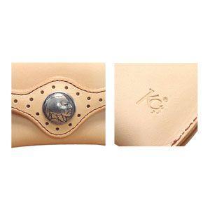 コインケース メンズ 革 名入れ ケイシーズ(KCs) インレイ&オーバーレイ レッド&タン テネシー コインケース KMC552E|nomado1230|04