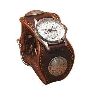 腕時計 革 ケイシーズ(KCs) プレーン エスパニューラ ダークブラウン ウォッチブレス ダブル ステッチ KMR504C|nomado1230