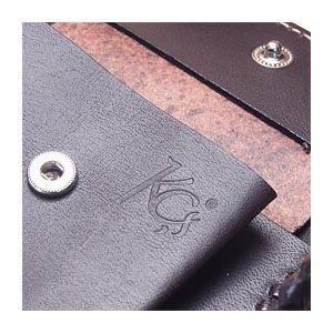 メンズ財布 革 名入れ ケイシーズ(KCs) レーシング ターコイズ ブラウン クラフト ビルフォード ライセンスケース付 KNB522C nomado1230 05