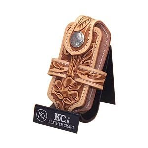 携帯ケース 名入れ ケイシーズ(KCs) クラフト クロス アンティーク 携帯電話ケース ツー KNE001AT|nomado1230