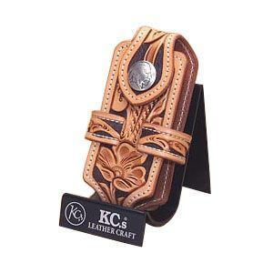 携帯ケース 名入れ ケイシーズ(KCs) クラフト クロス タン 携帯電話ケース ツー KNE001TN|nomado1230