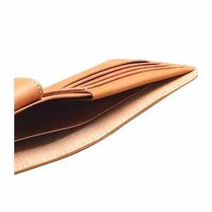 メンズ財布 革 名入れ ケイシーズ(KCs) クラフト サンタフェ ブラック バスケット ビルフォード KPB010BK|nomado1230|06