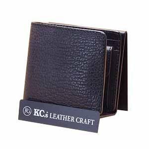 メンズ財布 革 名入れ ケイシーズ(KCs) エキゾチック サンタフェ ブラック バッファロー ビルフォード KPB023BK|nomado1230