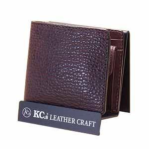 メンズ財布 革 名入れ ケイシーズ(KCs) エキゾチック サンタフェ チョコレート バッファロー ビルフォード KPB023CK|nomado1230
