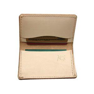 カードケース メンズ 革 名入れ ケイシーズ(KCs) スタンプ アーモンド フォート ワース バスケット カードケース KPC002AM nomado1230 02