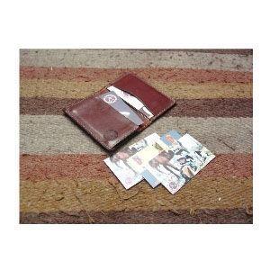 カードケース メンズ 革 名入れ ケイシーズ(KCs) スタンプ アーモンド フォート ワース バスケット カードケース KPC002AM nomado1230 03