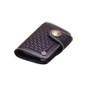 カードケース メンズ 革 名入れ ケイシーズ(KCs) スタンプ ブラック コロラド バスケット カードケース KPC508D|nomado1230