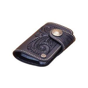 カードケース メンズ 革 名入れ ケイシーズ(KCs) クラフト ブラック コロラド カードケース KPC509D|nomado1230
