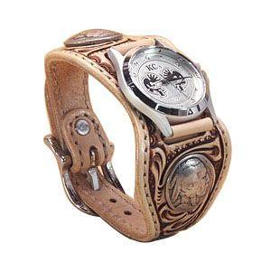 腕時計 革 ケイシーズ(KCs) クラフト エスパニューラ サドル ウォッチブレス KPR510A|nomado1230