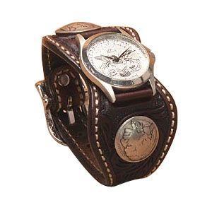 腕時計 革 ケイシーズ(KCs) クラフト エスパニューラ モカ ウォッチブレス KPR510C|nomado1230