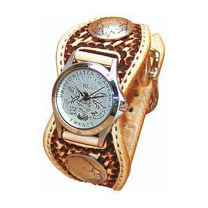 腕時計 革 ケイシーズ(KCs) スタンプ エスパニューラ サドル ウォッチブレス バスケット KPR511A|nomado1230