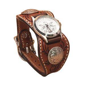 腕時計 革 ケイシーズ(KCs) カービング エスパニューラ アーモンド ウォッチブレス フリー カット KPR512B|nomado1230