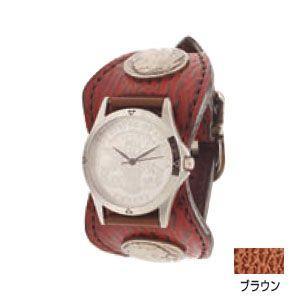 腕時計 革 ケイシーズ(KCs) エスパニョーラ ブラウン ウォッチブレス シャーク KPR013BR|nomado1230