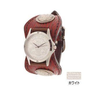 腕時計 革 ケイシーズ(KCs) エスパニョーラ ホワイト ウォッチブレス シャーク KPR013WH|nomado1230