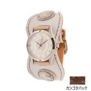 腕時計 革 ケイシーズ(KCs) エスパニョーラ カンゴタバック ウォッチブレス スムースオーストリッチ KPR516K|nomado1230