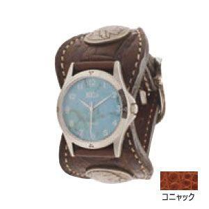 腕時計 革 ケイシーズ(KCs) エスパニョーラ コニャック ウォッチブレス タロコダイル KPR517A|nomado1230