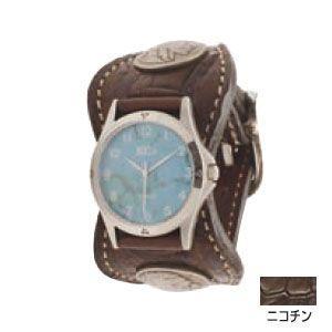腕時計 革 ケイシーズ(KCs) エスパニョーラ ニコチン ウォッチブレス タロコダイル KPR517B|nomado1230