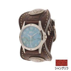 腕時計 革 ケイシーズ(KCs) エスパニョーラ シャングリラ ウォッチブレス タロコダイル KPR517D|nomado1230