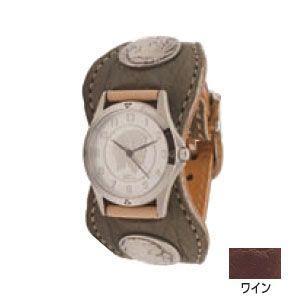 腕時計 革 ケイシーズ(KCs) エスパニョーラ ワイン ウォッチブレス エレファント KPR518B|nomado1230