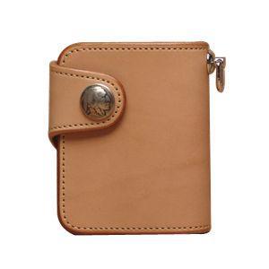 メンズ財布 革 名入れ ケイシーズ(KCs) プレーン シェルビー タン ビルフォード KSB501A|nomado1230