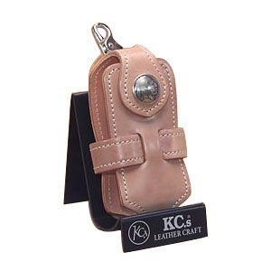 ケイシーズ(KCs) エキゾチック コードバン タン クロス 携帯電話ケース ツー KSE012TN|nomado1230
