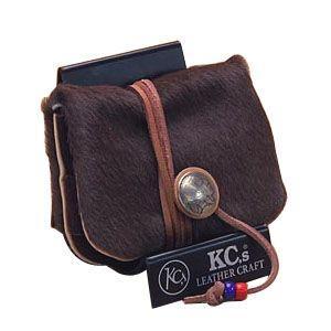 ケイシーズ(KCs) エキゾチック アンボーン ブラウン ミニ ウォレット KSMW003BR|nomado1230