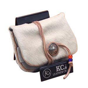 ケイシーズ(KCs) エキゾチック アンボーン ホワイト ミニ ウォレット KSMW003WH|nomado1230