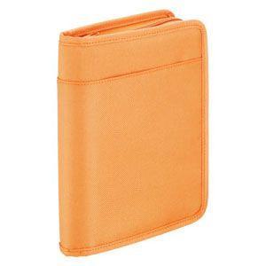 クリアポケット A5 キングジム スキットマン A5 通帳&カード収納ケース 2360 オレンジ 2360OR|nomado1230