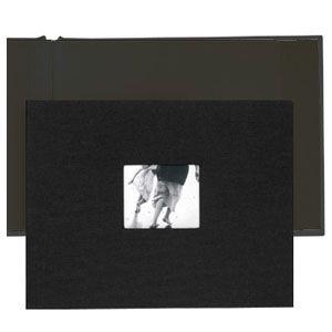 アルバム コロ(KOLO) ニューポート8.5×11 ブラック アルバム 2セット No. 1002201 nomado1230